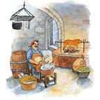 Fabulous Faboo, Children's Book Illustration, Susanne Ward