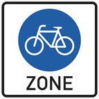 VZ 244.1 (Beginn einer Fahrradzone)