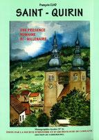 Saint-Quirin, Une présence Bi-Millenaire histoire lettenbach prieuré