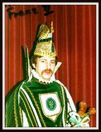 Prinz Franz I. Barthels, 1981