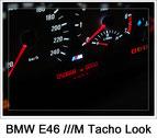 BMW E46 ///M Tacho Look