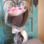 プリザーブドフラワー,花束,薄ピンク,ギフト,結婚式の両親花束贈呈,プロポーズ,退職祝い
