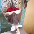 プリザーブドフラワー,花束,赤,ギフト,結婚式の両親花束贈呈,プロポーズ,退職祝い