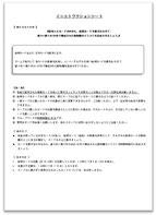 モノクロ印刷のインストラクションシートの写真