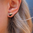 Stud Earrings Wood   €15