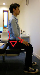 腰椎椎間板ヘルニアで座ると腰が痛い奈良県葛城市の女性