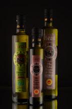 Olivenöl Kalabrien Eleusi Öl Eleusi Olivenöl Eleusi Olio Calabria Kalabrien BIO D.O.P. Manufaktur Sibari Aromaöl Mandarine Limone Paprika Native Olivenöl
