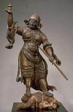 多聞天立像 鎌倉時代 13C 重要文化財 奈良国立博物館蔵