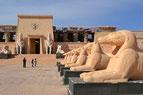 Plateau de cinéma du film Atérix et Cléopâtre