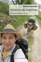couverture du livre histoire de marcher