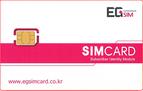 韓国EG SIM プリペイドSIMカード 日本で購入