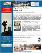Pilgerbrief Oktober 2013