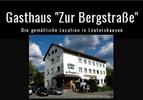 """Logo / Bild Gasthaus """"Zur Bergstraße"""""""