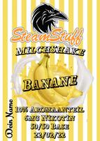 Bananenshake Aroma, Bananenshakearoma, Bananenshakeliquid, Bananenmilch zum Dampfen, Banenmilch als Aroma