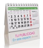 Calendario publicitario Sobremesa de 7 hojas sin imagen