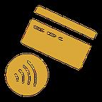 Schutz: bargeldlose Zahlung