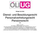 Dienstrechtsskriptum der ÖLI-UG 01.09.2017