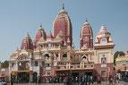 Delhi, Indien, Tempel, Hindu
