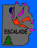 ou faire de l'escalade sur le département du Lot à Tour de Faure,Saint Cirq Lapopie 46330? Voyage tourisme loisirs de pleine nature.Lot aventure 46.