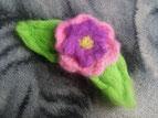 Blume (gefilzt)