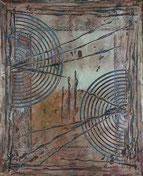 Bild: abstrakte Acrylmalerei, Wandbild, Dominique Steiger Acrylart Künstlerin, Acrylbild abstrakt, Spachteltechnik, Acrylfarben, Acrylbild auf Leinwand, abstrakte Kunst Bilder, Acrylbild  kaufen, handgemalt