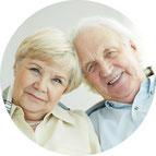 Kieferknochen-Aufbau für Implantate, wenn der Kiefer zu schmal oder zu flach ist