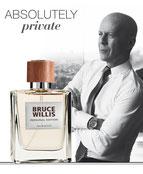 Concept parfums de Stars  Bruce Willis, Heidi Klum, Boris Becker...