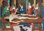 La storia dell'anatomia generale e oculare.