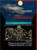 Petra Mettke/Kurgespräch/Hörspiel/Druckheft von 2002/Coverentwurf