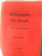 Petra Mettke, Karin Mettke-Schröder/Bibliographie first decade/Originaleinband/1999