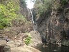 Einer der zahlr.Wasserfälle