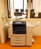 Der neue moderne Farbkopierer im JPRS-Medienzentrum