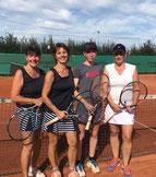 Finale im Damen Doppel