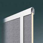 Stucco Füllung für Alu-Rahmen Sektionaltor 20mm