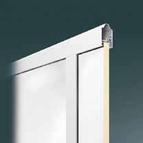 Glattblech Füllung 20 mm für Alu-Rahmen Sektionaltor