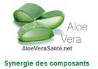C'est l'action commune , la synergie de tous les éléments qui permet les nombreux effets positifs de l'aloe vera.