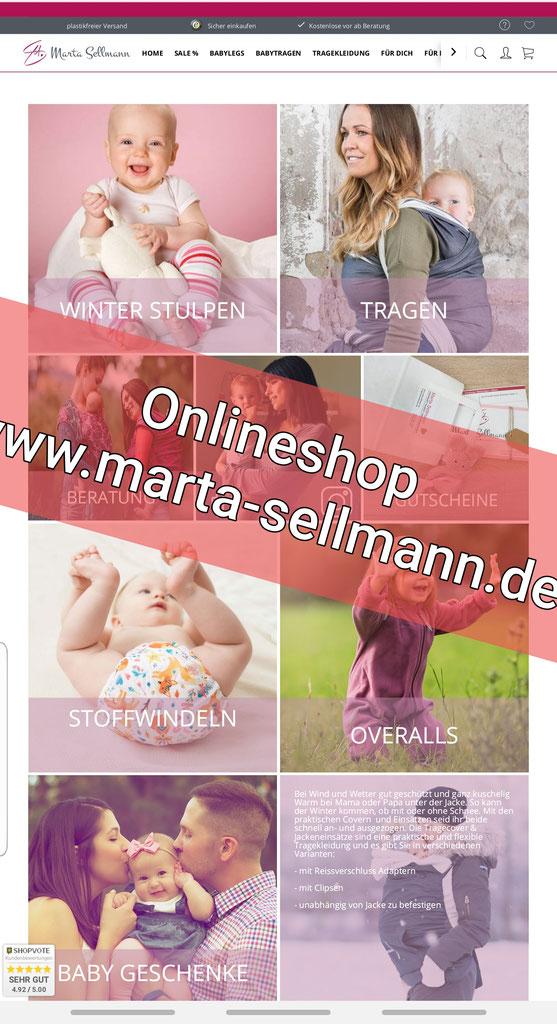 Babytrage Shop