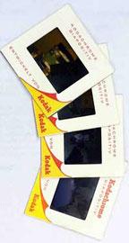 Alte Kodak Kodachrome Diabilder
