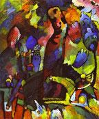 Kandinskij, Quadro con arciere, 1909