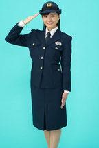 警察官カレンダーモデルに選ばれる(佐藤)