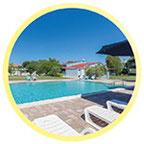 Gruppenhaus Plava Kuća - Highlight: der Pool am Haus!