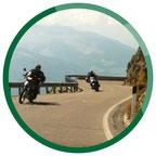 Kurvenreiche Motorradtouren durch Südtirol