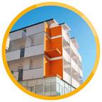 Jugendhotel in Rimini