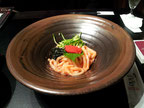 Mentaiko Cream Udon (Spicy cod roe)
