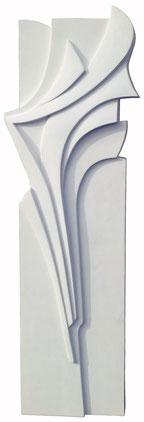 Marina Battistella - Totem - cm 170 x 60 tecnica mista su polistirene