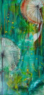 """Dandelion"" - Acryl auf Leinwand 35x50"