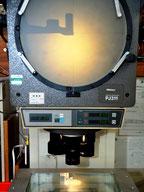 投影機による形状検査