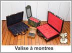Valise pour montre sur mesure magnifique Louis Vuitton rolex