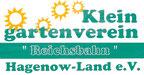 """Kleingartenverein """"Reichsbahn"""" Hagenow-Land e.V."""