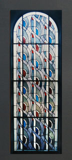 Kirchenfenster, St. Andreas, Leverkusen, Anfang 1960